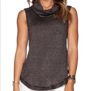 Women's Free People cowl neck tank top timber